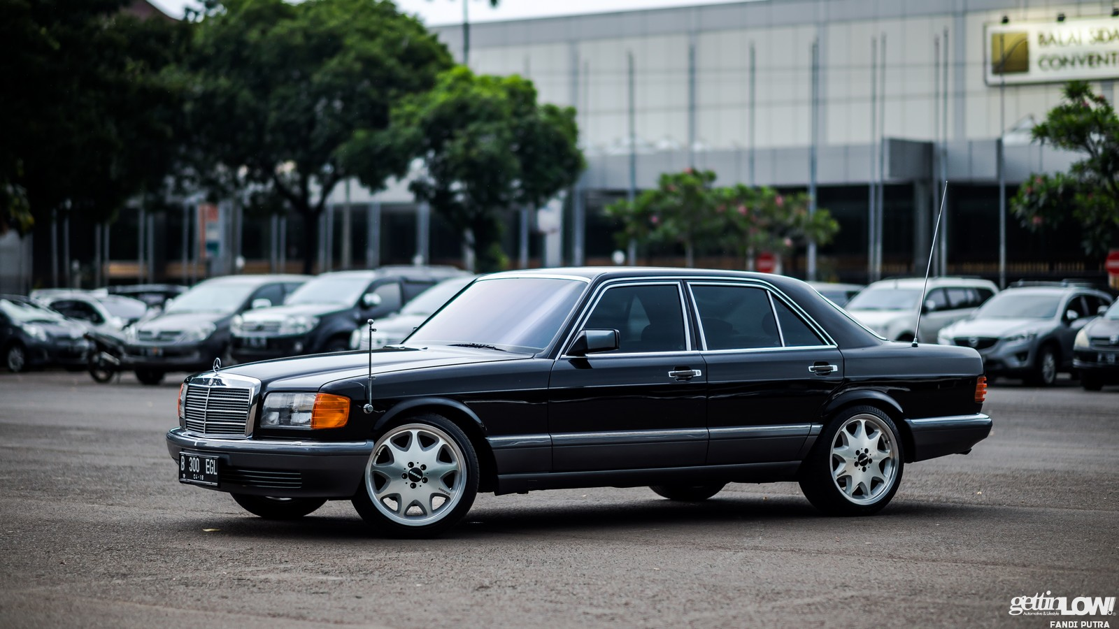 Mercedes Benz W126 Indra SKN