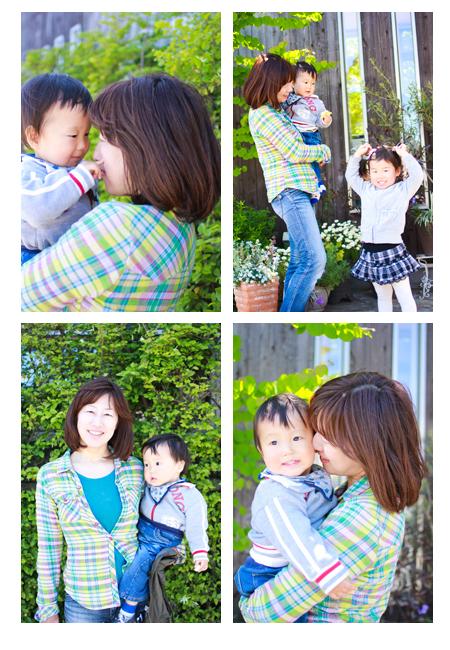 家族写真 子供写真 キッズフォト 屋外撮影 愛知県江南市