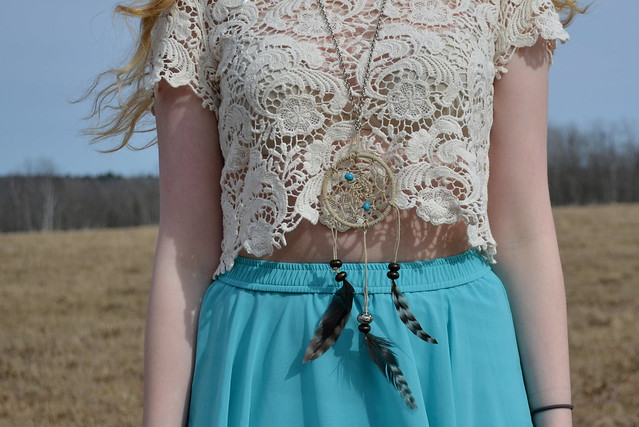 Dreamcatcher Necklace | Unique Bohemian Gypsy Dreamcatchers Ideas Perfect For Homemade Gifts