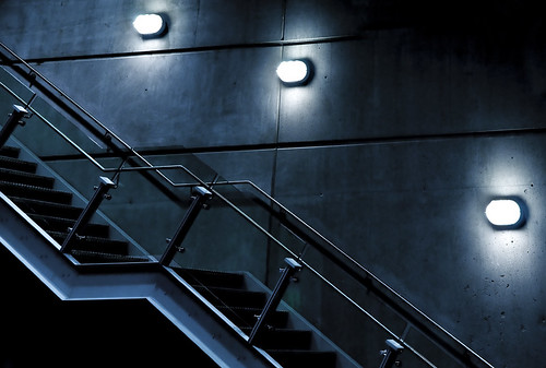 sinister stairs by petetaylor