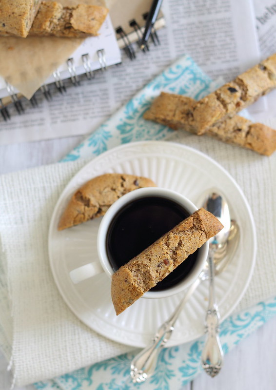 grain and gluten free almond ginger biscotti