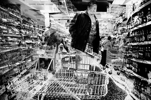 Supermarket Man by Allan1952
