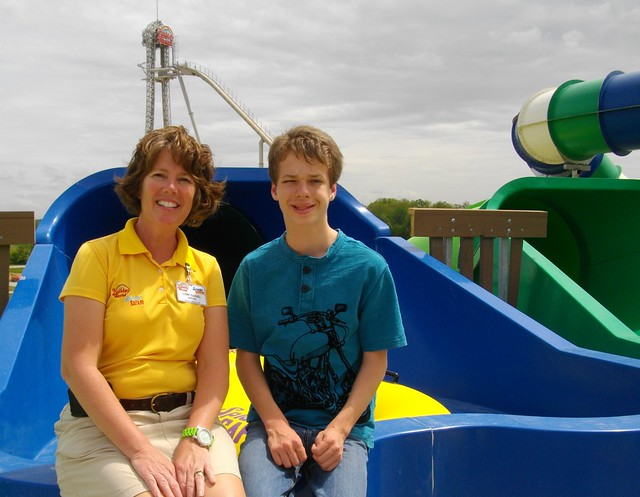 Lori and Caleb at Hyena Falls