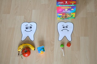 Happy Sad Tooth Foods