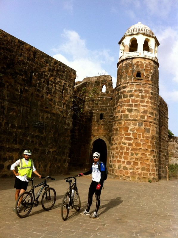 Cycling at Palghar - Shirgaon Fort