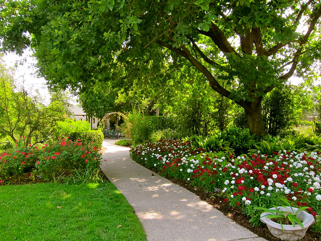 English Garden Path Flickr Photo Sharing