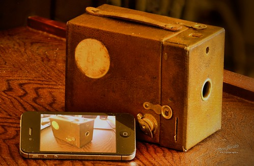 1930 Kodak vs iPhone - Project Flickr 21/52: Technology
