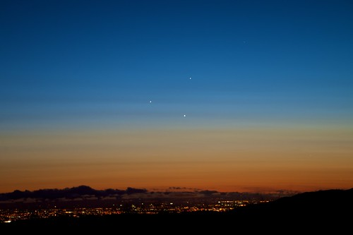 Conjunction over San Jose