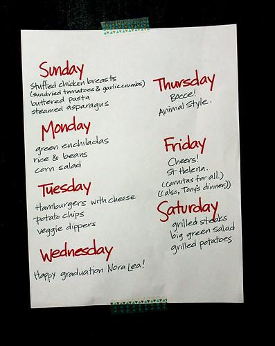What we're eating, week of June 2