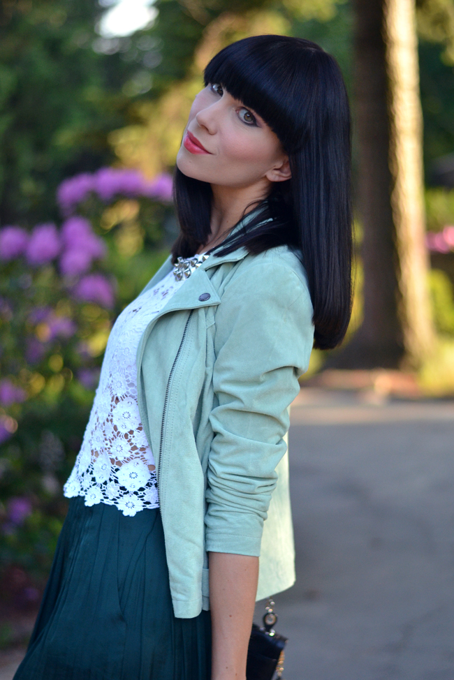 Sojeans green jacket outfit blogger 4
