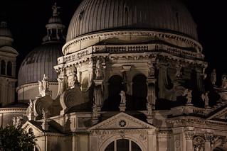 Obrázek Madonna della Salute. venice italy church night italia chiesa venezia notte madonnadellasalute