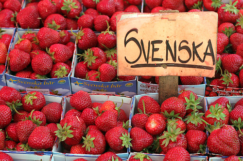 sweden strawberries