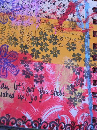 Art Journaling Magazine by Somerset Studio, Feature Summer 2013