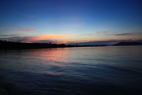 sunset on Koh Rong Samloem