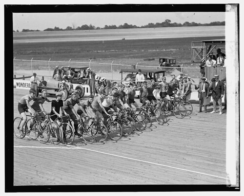 Laurel Wooden Race Track 1925