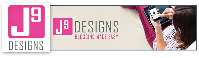 J9 Design Logo Banner