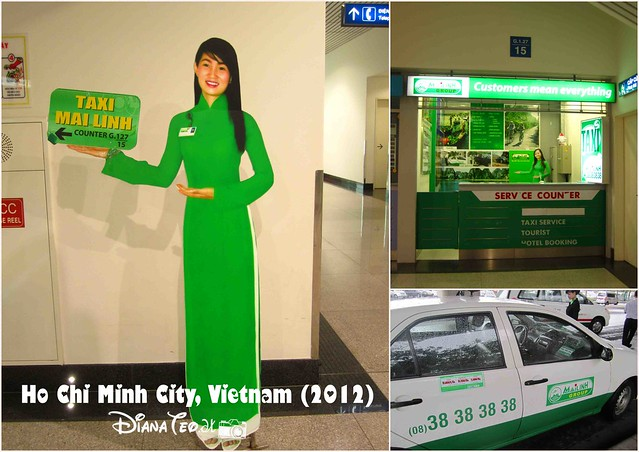 Day 1 - Ho Chi Minh City Taxi Mai Linh