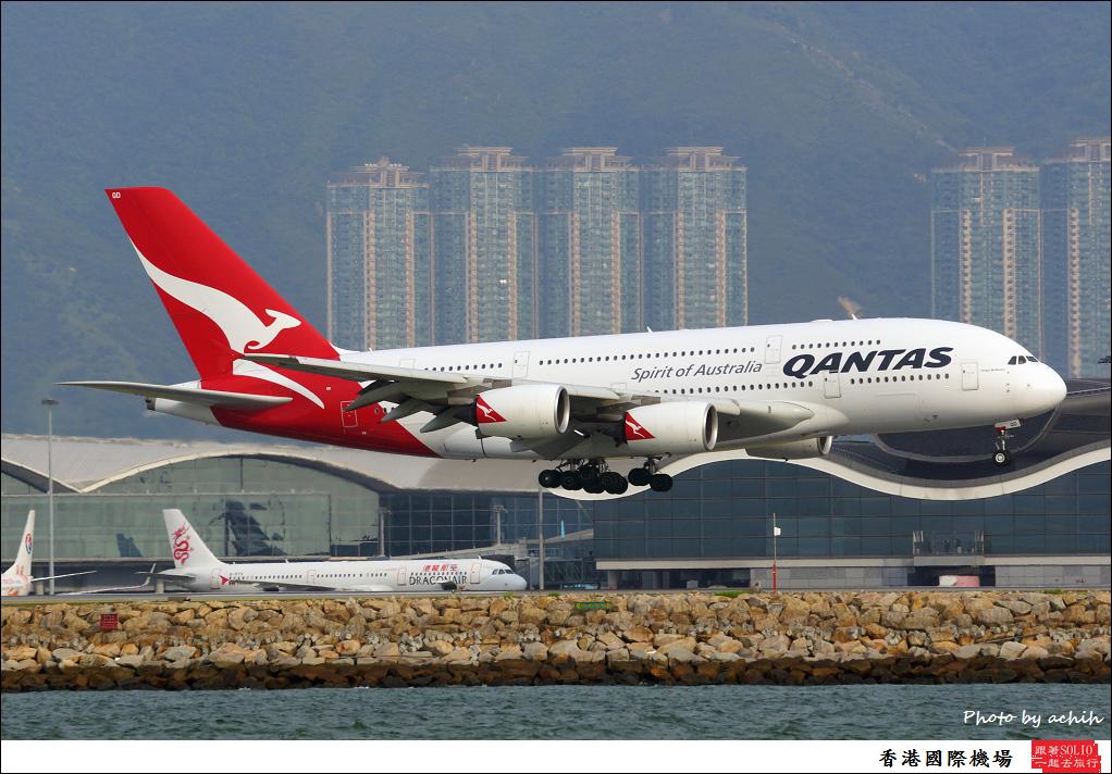 Qantas VH-OQD-001
