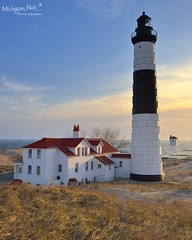 Big Sable Point Lighthouse - Ludington, Michigan by Michigan Nut