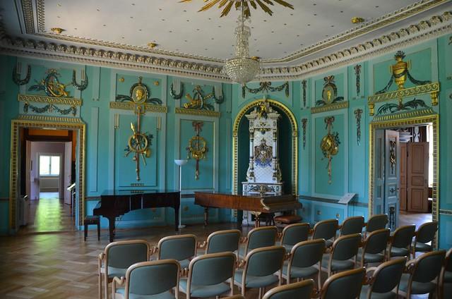Musikzimmer im Schloss Branitz