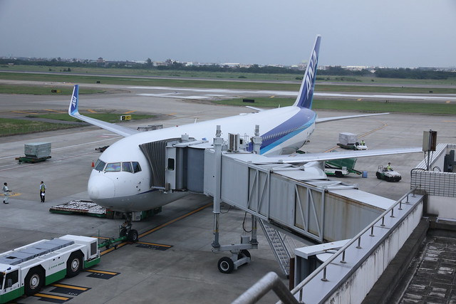 ANA at TPE taoyuan airport