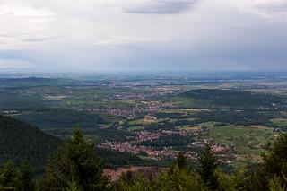 Vue depuis le Mont Saint Odile