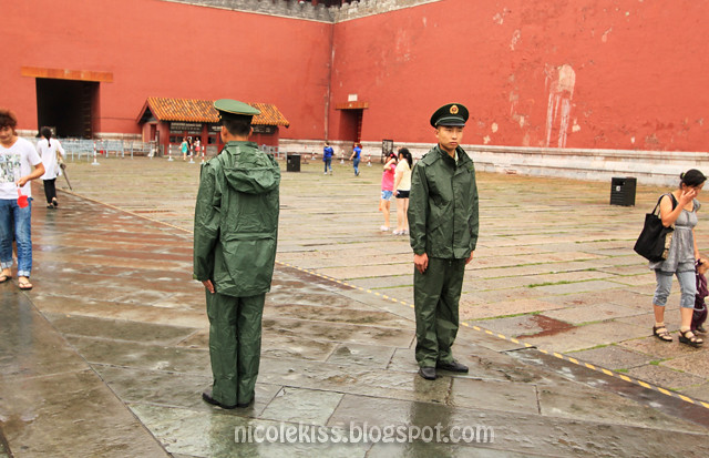 Guards at the Forbidden City, Beijing