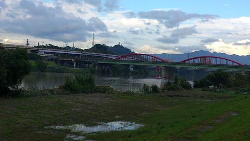 至永福橋前