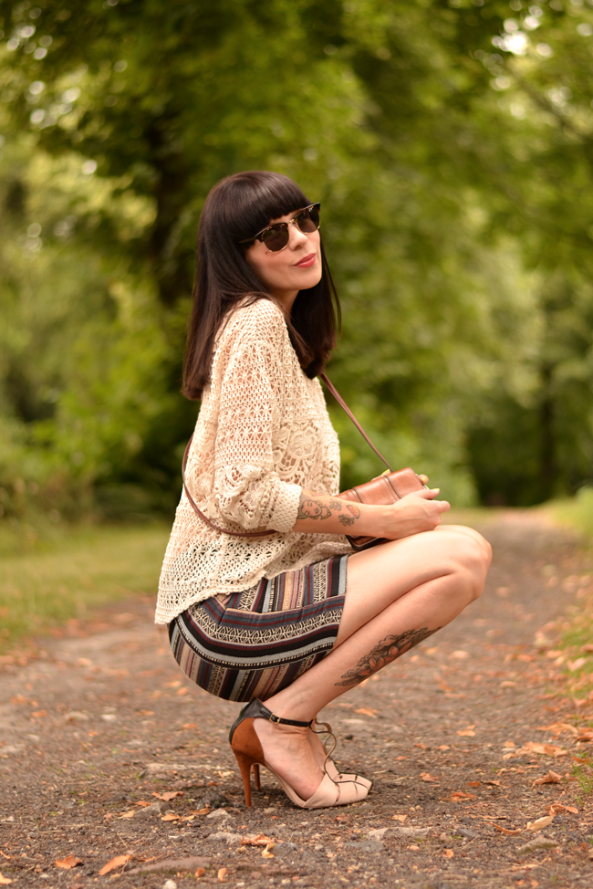 Boho Hippie Outfit H&M blogger 1