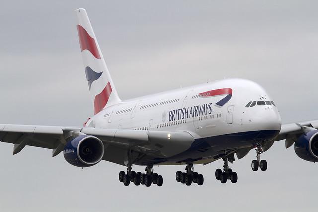 British Airways A380