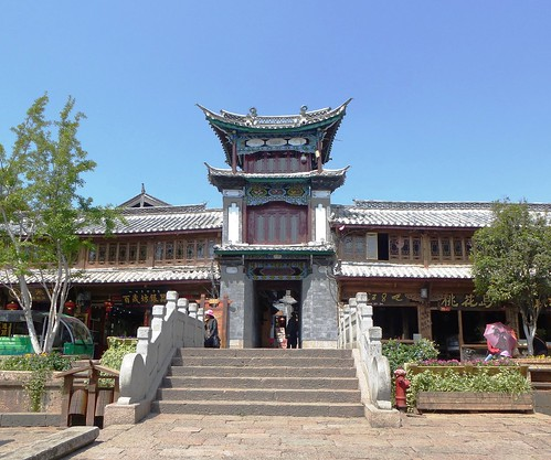 Yunnan13-Lijiang-Temple et Édifices (1)