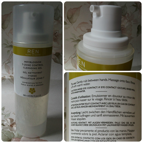 Ren T-Zone control cleansing gel review