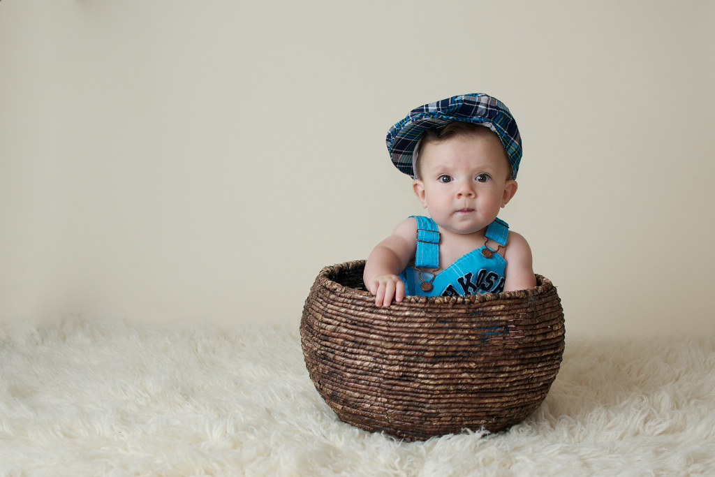 Mr. X 6 Months {Albuquerque Children's Photographer}