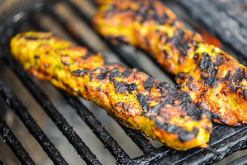 Chicken Keema Kebabs