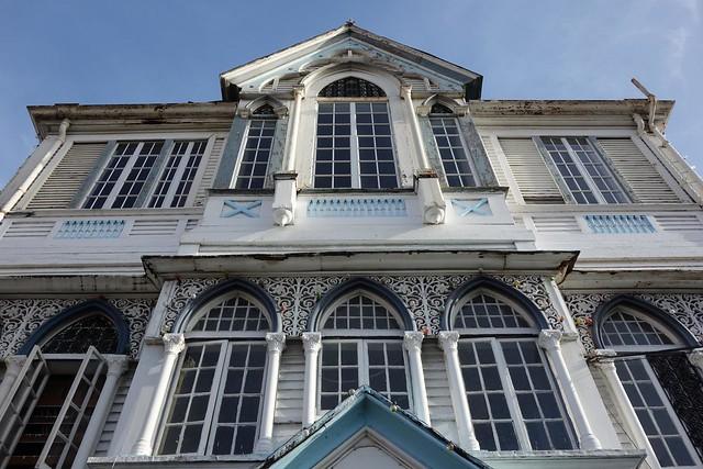 Casas de estilo colonial em Georgetown