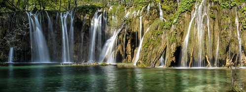 park panorama croatia national seen plitvice kroatien plitvica plitvicer