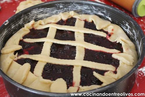 Tarta de moras y queso www.cocinandoentreolivos (26)