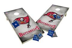 Tampa Bay Buccaneers Custom Cornhole Boards XL