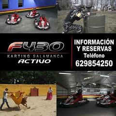 DESPEDIDAS SALAMANCA f430 Karting Salamanca www.kartingsalamanca.com Karting,Capeas,Gymkanas,Paintball,Alojamiento...