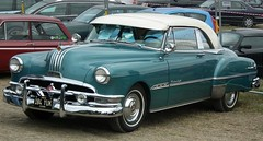 automobile, automotive exterior, hudson hornet, pontiac chieftain, vehicle, full-size car, compact car, antique car, sedan, land vehicle, luxury vehicle,