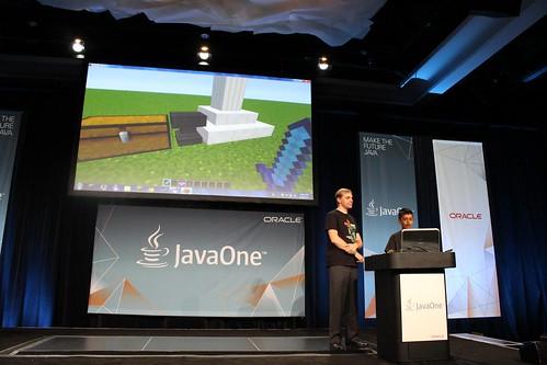 Aditya Gupta and Minecraft demos