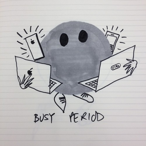 "Day 7 - ""Our busy period"""