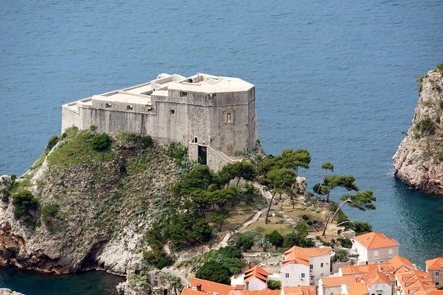 Fuerte de San Lorenzo. Casco antiguo de Dubrovnik. Croacia.