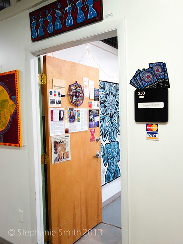 The entrance to studio #250