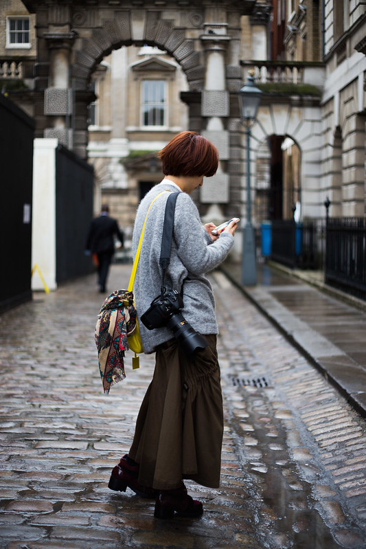 Street Style - Wing Yee, London Fashion Week