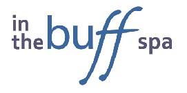 In The Buff Spa logo