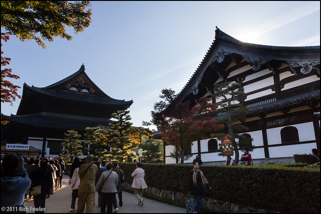 Tofukuji Temple, Main Buildings