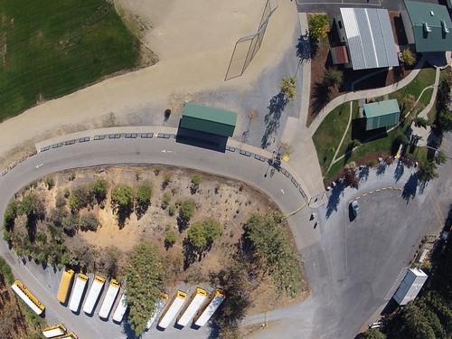 Kite Aerial Photography - Georgetown School