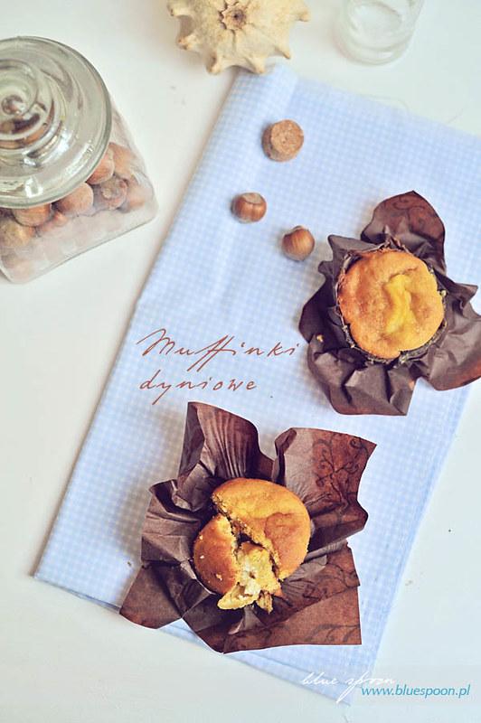 muffinki dyniowe - przepis