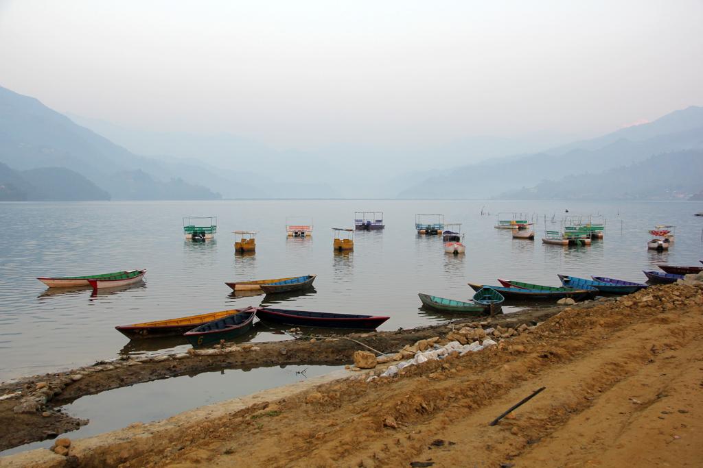 The peacefulness of Phewa Lake